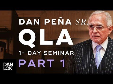 Dan Peña, Sr. QLA One Day Seminar at Heathrow Part 1
