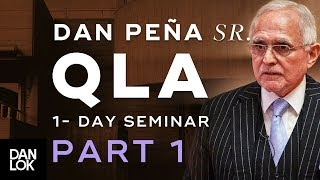 Dan Peña, Sr. QLA One Day Seminar at Heathrow Part 1