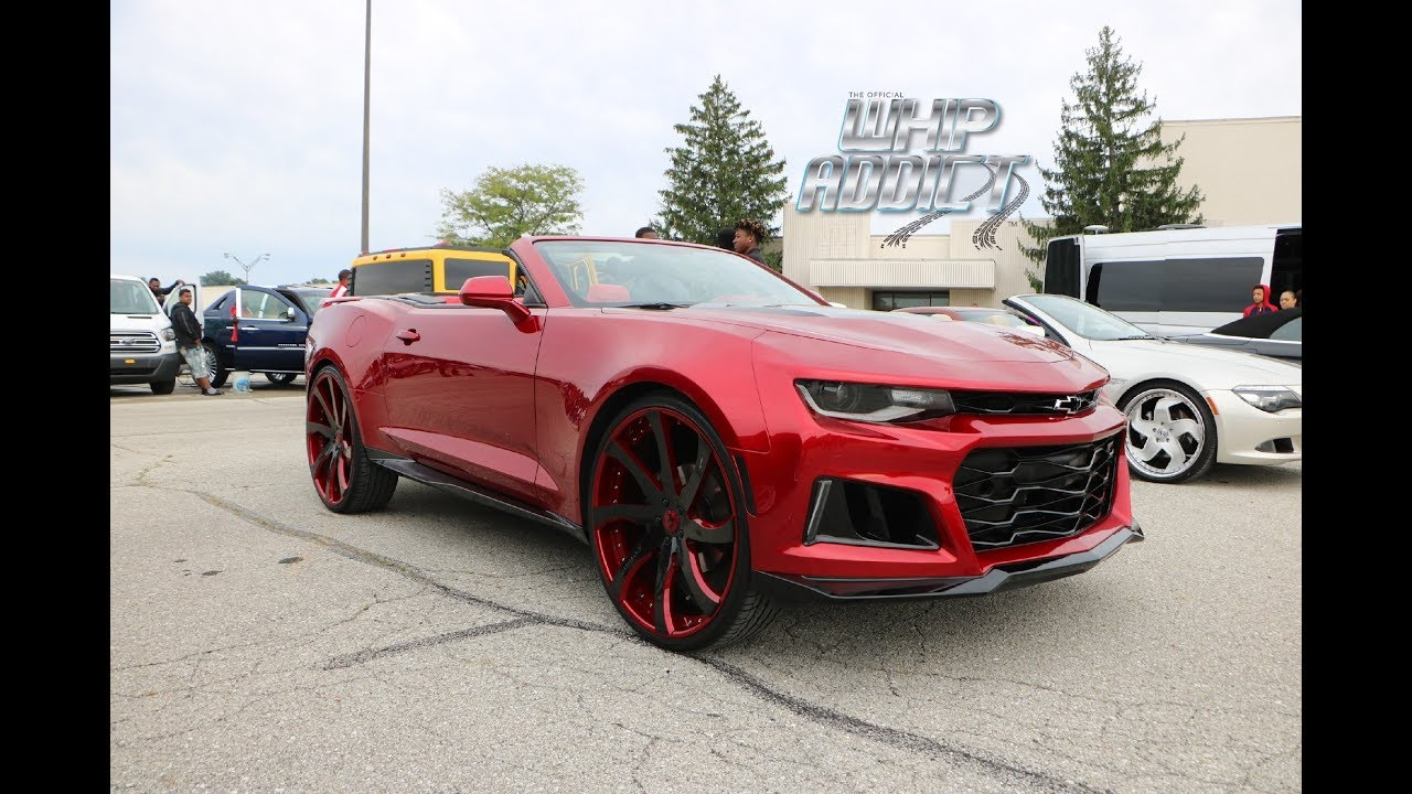 Whipaddict Cj On 32s Kandy Red 2018 Zl1 Front Chevy