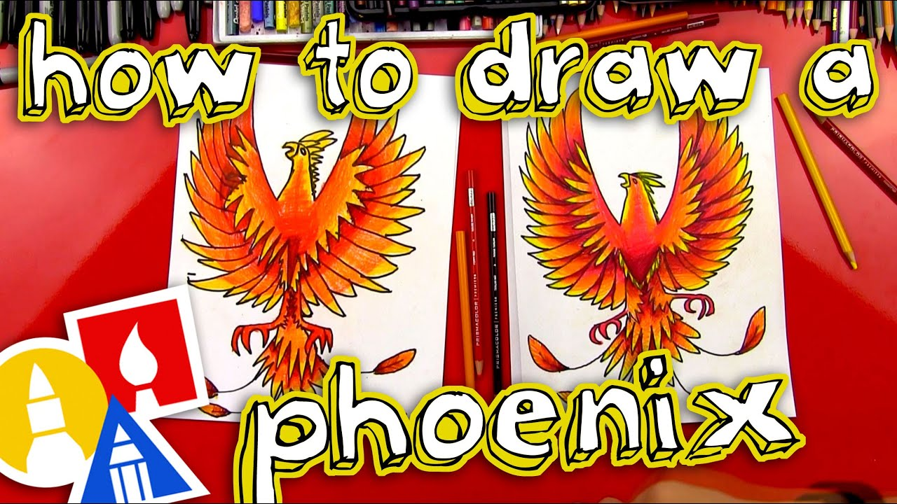 How To Draw A Phoenix Youtube