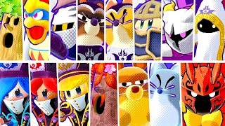 Kirby Star Allies - All Bosses without Allies (Soul Melter Difficulty)