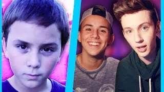 REACTING TO OLD HOME VIDEOS ft. My Brother Tyde!