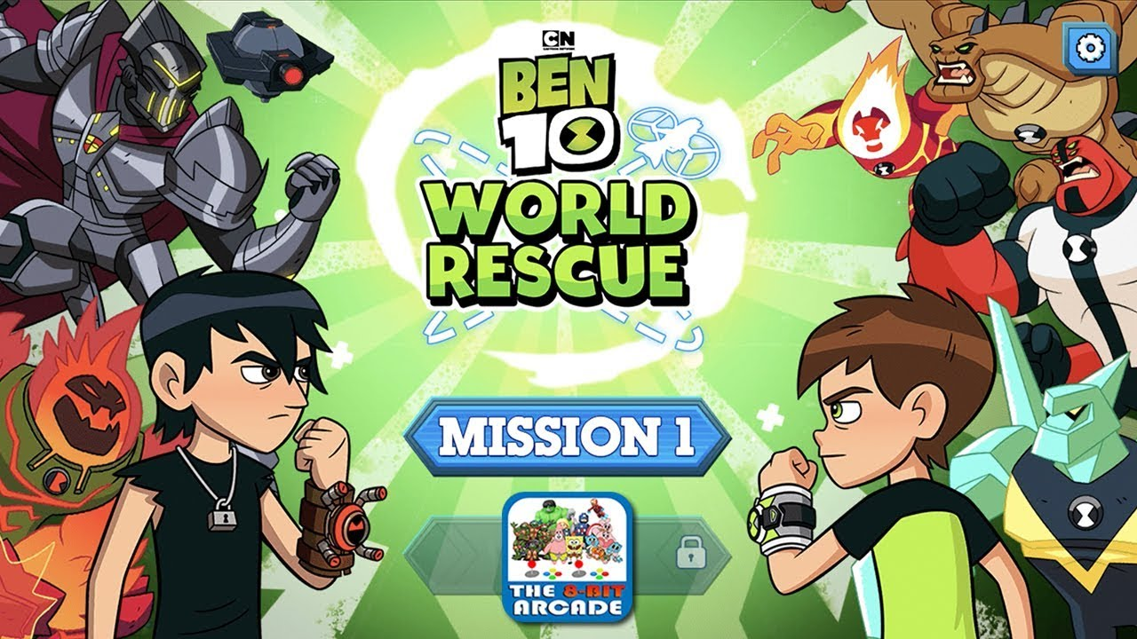 Ben 10: World Rescue - Travel the World to Save your Family (CN Games)