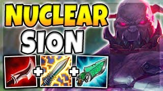 NUCLEAR ONE-SHOT SION MID! 100% INSTANT ONE-SHOT CARRIES WITH ULT (INSANE) - League of Legends
