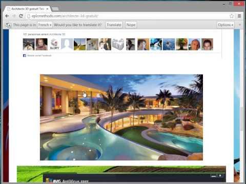 Crack architecte 3d gratuit telecharger for Architecte 3d gratuit