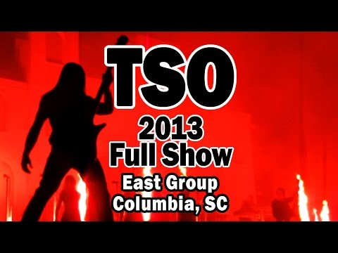 Trans-Siberian Orchestra - FULL SHOW Columbia SC 2013 Winter Tour
