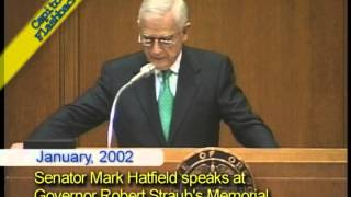 Capitol Flashback: Senator Mark Hatfield