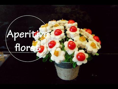 Aperitivo fácil para fiestas de flores con pan de molde   Acqua Rosa Recetas