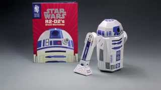 Star Wars R2-d2's Droid Workshop - Construction Book Tutorial
