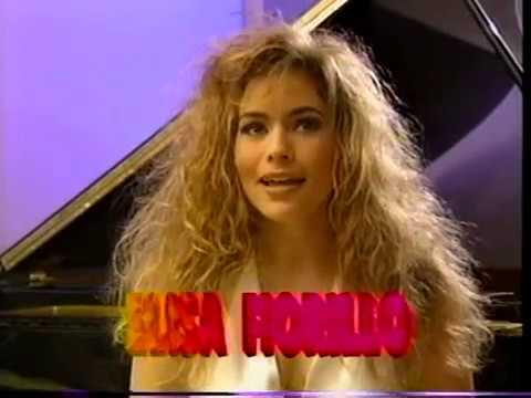 Elisa Fiorillo 1990 Teenvid Interview