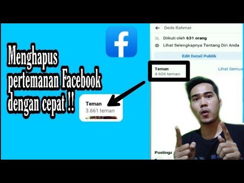 Menghapus Banyak Teman Facebook Yang Mungkin Sudah Tidak Aktif Dengan Mudah Dan Cepat Lewat Android!.