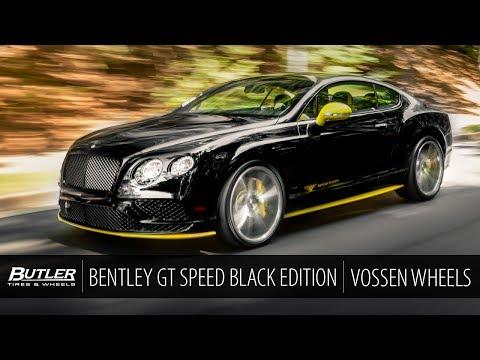 Bentley GT Speed Black Edition   Vossen CG-203 Wheels   Butler Tire