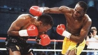 Mike McCallum vs Donald Curry - Highlights (Huge Left Hook KNOCKOUT)