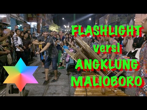 FLASHLIGHT versi Angklung Malioboro