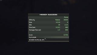 MW 3 Spec Ops - Hostage Taker (veteran)