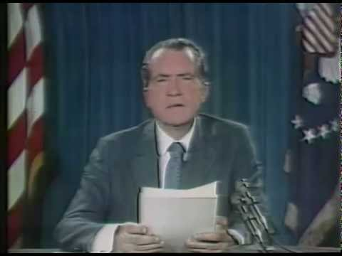 The Challenge of Peace - President Nixon's Address to the Nation on A New Economic Policy
