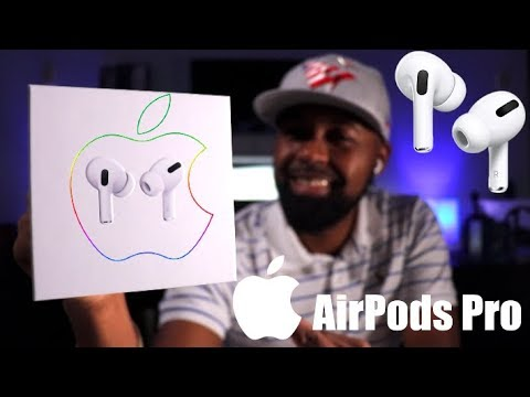 Apple AirPods Pro | Unboxing/First Impressions