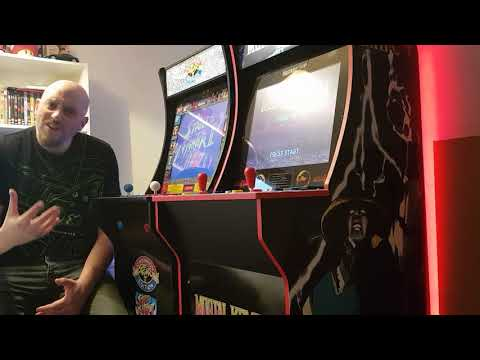 Mortal Kombat & Street Fighter Arcade 1Up Riser Booster from Retro Gaming And Arcade UK