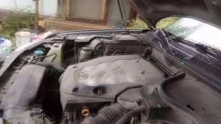 infiniti fx35 2007 на повседнев, меняем газовые упоры капота своими руками!