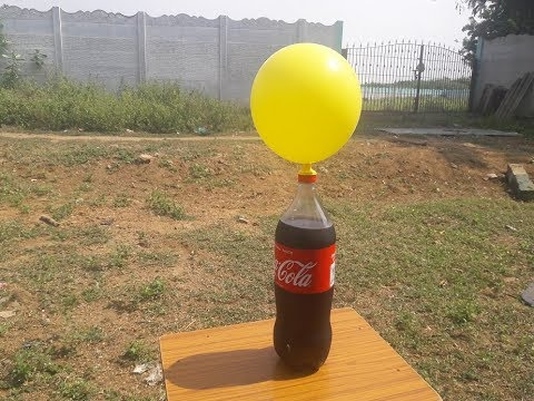 AMAZING  Balloon experiment with COCA COLA VS BAKING SODA   poprocks using balloon