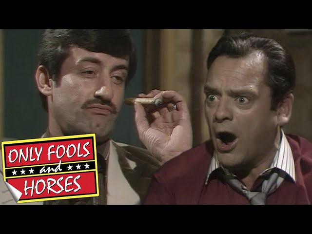 CARDS WITH BOYCIE: Someone Loses Out Big! | Only Fools and Horses | BBC Comedy Greats