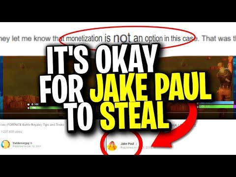 I tried to strike Jake Paul for stealing my Fortnite content and this happened...