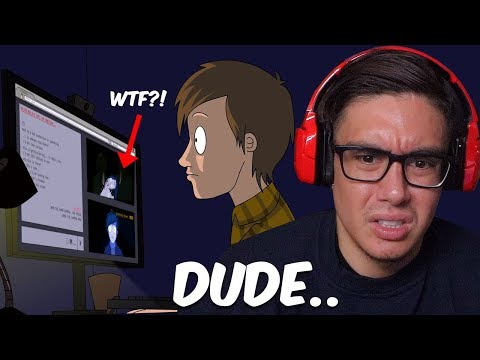 Reacting To True Scary Story Animations Of Why The Deep Web Is A Dangerous Game