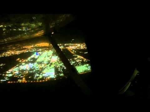 Asaf Goldfeld Flight Lesson number-38 Night takeoff landings LLHA LLSD 18.11.2014