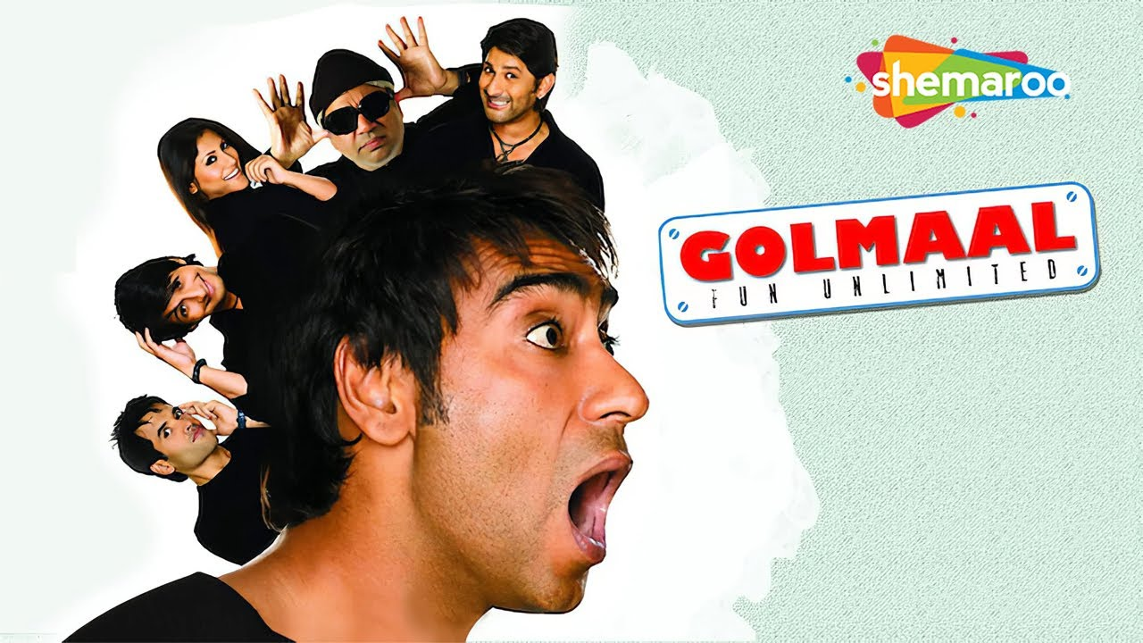 Golmaal - Fun Unlimited (2006)(HD & Eng Subs) Hindi Full Comedy Movie - Ajay Devgan | Arshad War