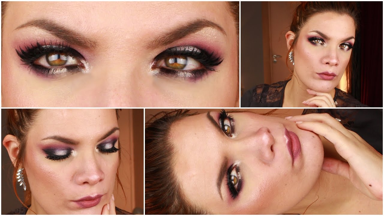 maquillage yeux argent