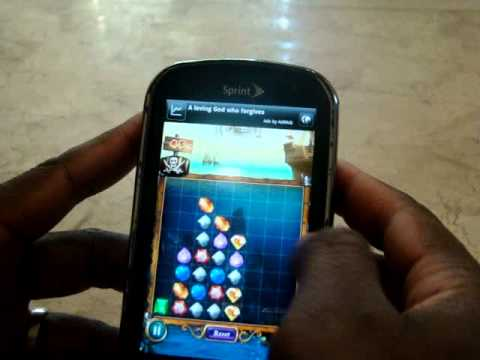 Jewels Deluxe Level 45 Android Phone