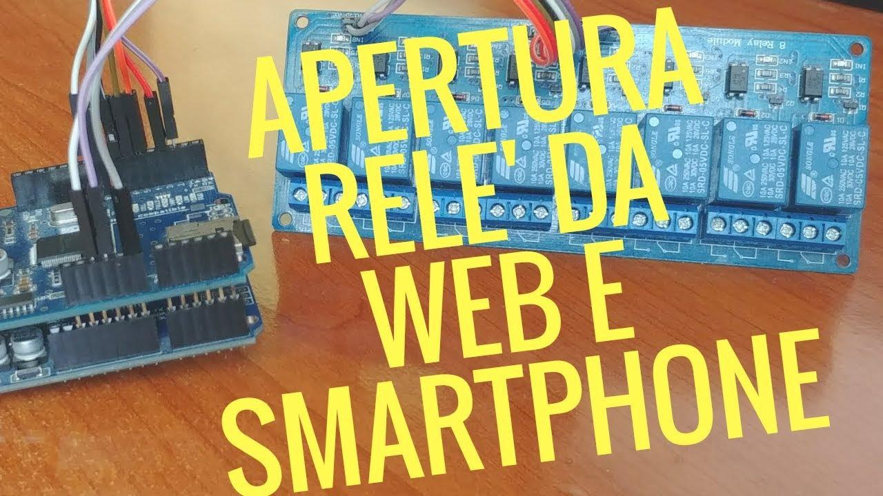 ESP8266 5V WiFi Modulo Relè cose Smart Home TELERUTTORE telefono IOT Y
