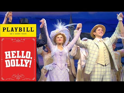 Hello Dolly - Bernadette Peters - Broadway Cares Curtain Call 04/05/18