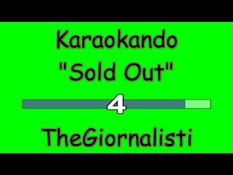 Karaoke Italiano - Sold Out - Thegiornalisti ( Testo )