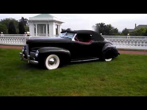 Elegance At Hershey 2013 1940 Nash Ambassador Eight Special Cabriolet