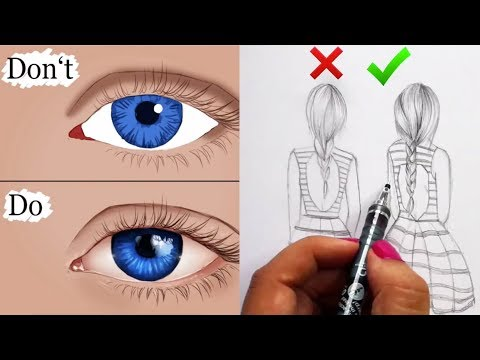 DOs & DON'Ts: How to Draw Tutorial Compilation (Easy Step by Step) Mistakes to Avoid