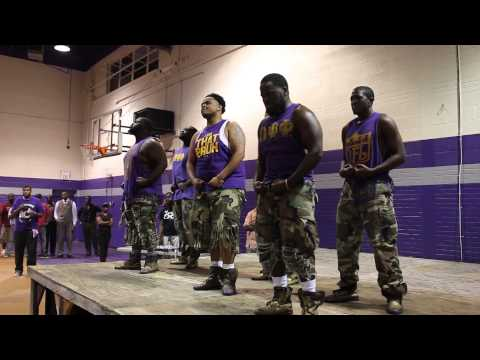 Wiley College Meet The Greeks 2014  Omega Psi Phi