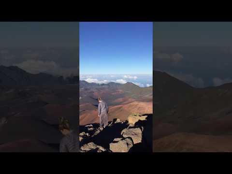 Haleakalā crater, Maui, Hawaii