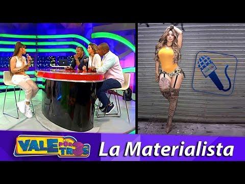 La Materialista Entrevista x3s VALE POR TRES