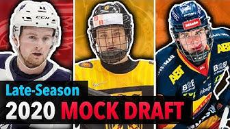 HUGE Late-Season 2020 NHL Mock Draft | Lafrenière, Stützle, Byfield, Raymond, Lundell