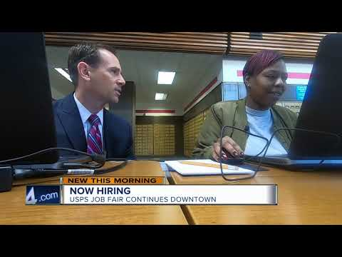 'You Can Double Your Salary': United States Postal Service Hiring At Milwaukee Job Fair