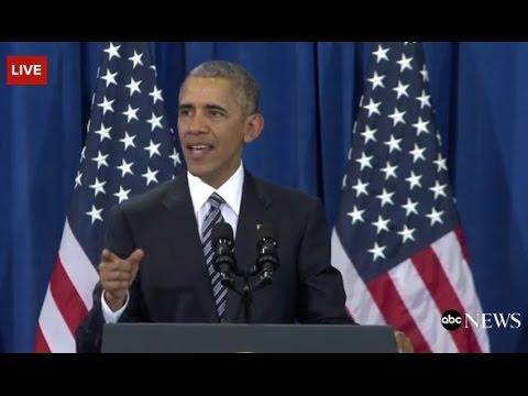 Obama's Final National Security Address: FULL SPEECH