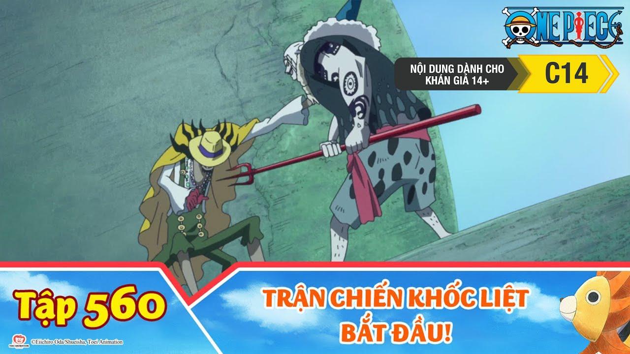 One Piece Best Cut Tập 560: Trận Chiến Khốc Liệt Bắt Đầu! Luffy Đấu Với Hody!