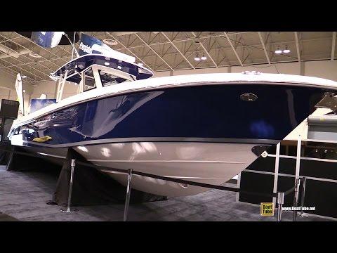 2017 Everglades 355 CC Fishing Boat - Walkaround - 2017 Toronto Boat Show