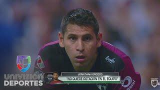 Jonathan Orozco dijo que prefiere ir a la banca en Monterrey que alternar en el arco
