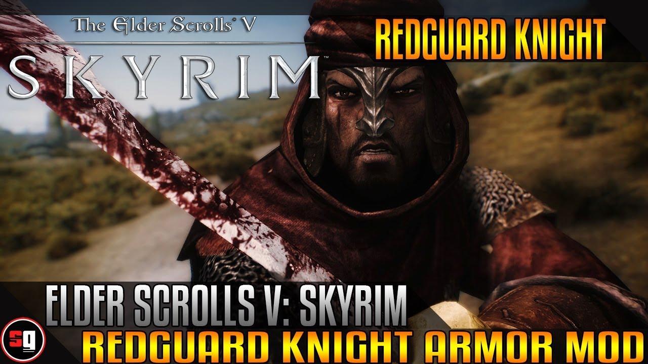 The Elder Scrolls V: Skyrim - Redguard Knight Armor Mod ... Play Elder Scrolls Redguard Online