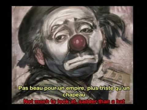 Edith Piaf Bravo Pour Le Clown French & English Subtitles