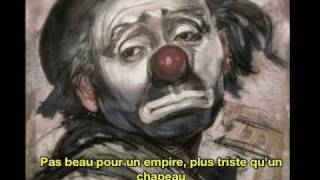 Edith Piaf Bravo Pour Le Clown French & English Subtitles