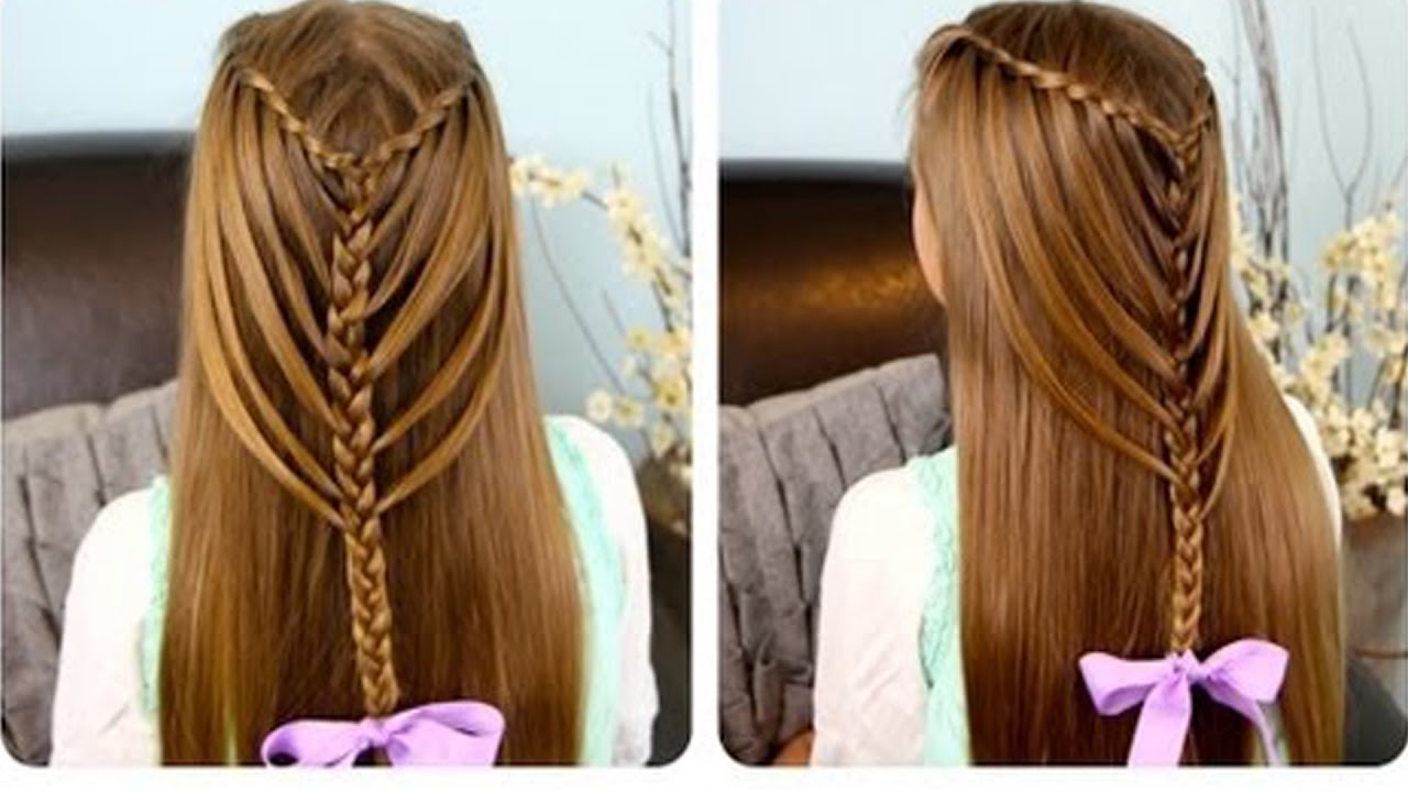 party wear hair styles for girls