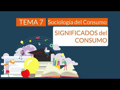 Significados del consumo